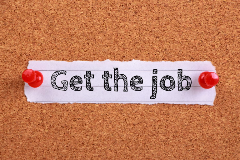get hired after college